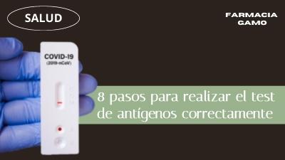 Como realizar test de antígenos en 8 pasos