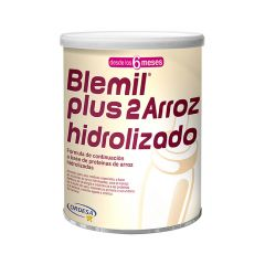 Blemil plus 2 arroz hidrolizado 400 g 1 lata neutro