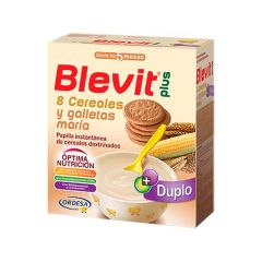 Blevit Plus duplo papilla 8 cereales + galleta 600g