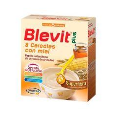 Blevit Plus superfibra papilla 8 cereales + miel 600 g