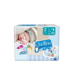 Chelino pañal infantil Talla 2 recién nacido -3-6 kg- 28