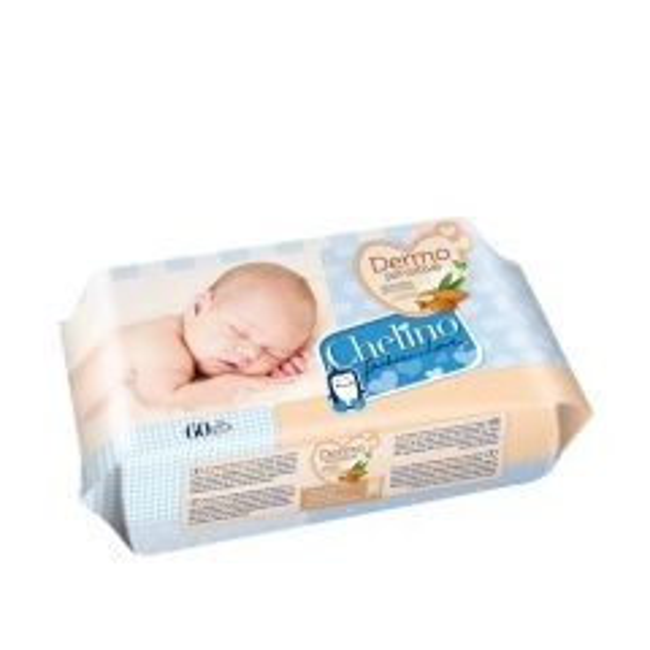 Chelino toallitas infantiles dermo sensitive 60 unidades