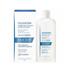 Ducray Squanorm champú tratamiento caspa seca 200ml