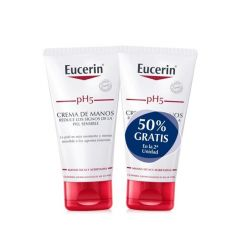 Eucerin pH5 Crema de manos piel sensible Duplo 2 x 75 ml