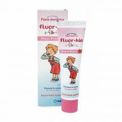 Fluor·Kin Infantil pasta dentífrica fresa 50 ml