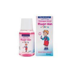 Fluor·Kin Infantil Semanal enjuague bucal 100 ml
