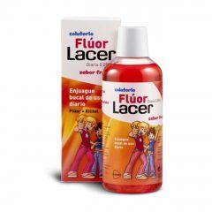 Lacer colutorio Flúor diario Lacer fresa 500 ml