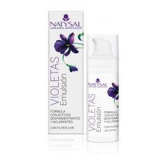 Natysal emulsión de violetas despigmentante SPF 20 50 ml