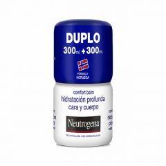 Neutrogena Comfort Balm hidratación cara y cuerpo 300+300 ml