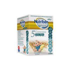 Nutribén innova 5 cereales con fibra 600 g
