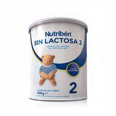 Nutribén leche sin lactosa 2 continuación 400 g