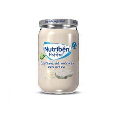 Nutribén Potito Suprema de Merluza con Arroz 235g