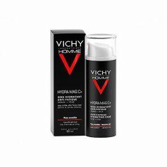 Vichy Homme Hydra Mag C+ anti-fatiga rostro y ojos 50 ml