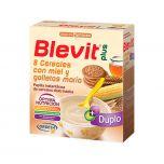 Blevit Plus duplo papilla 8 cereales + miel + galleta 600 g