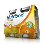 Nutribén zumo 3 Frutas pack 2x130 ml