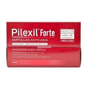 Pilexil forte ampollas anticaída 5 ml 15 ampollas + 5 gratis